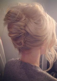 Hairstyle Favourites: French Twist wedding hair #beautifulhair