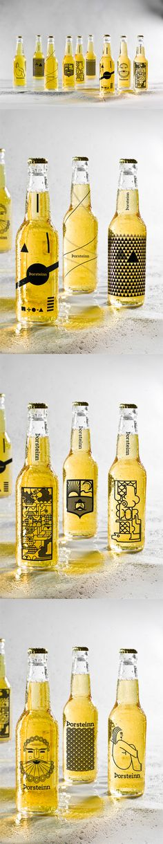 Thorsteinn Beer Brand #beer #bottles #package