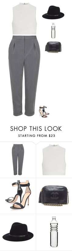 """Untitled #1838"" by tayloremily218 on Polyvore featuring Topshop, Elizabeth and James, Gianvito Rossi, Chanel, rag & bone and Dot & Bo"
