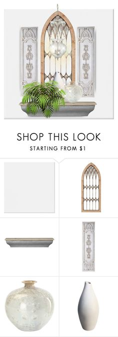 """""""Untitled #4082"""" by kellie-debrandt-mescher ❤ liked on Polyvore featuring interior, interiors, interior design, home, home decor, interior decorating and Hudson Valley Lighting"""