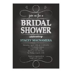 Discount DealsChalkboard Bridal Shower Invitationtoday price drop and special promotion. Get The best buy