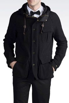 Emporio Armani Parkas for Men Emporio Armani, Parka, Raincoat, Campaign, Collections, Hoodies, Luxury, Best Deals, Sweaters