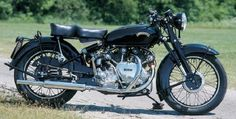 Britain's Vincent HRD series, like this 1951 HRD Series B Rapide, were in their time among the world's fastest motorcycles. See more motorcycle pictures.