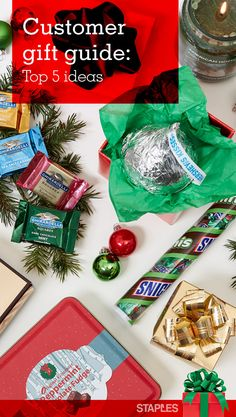 Run a small business? You can't be successful without your customers. Show your appreciation this season, and inspire continued loyalty, by giving them gifts that make you a holiday success. Branded items are at the top of the list. See what else made it.