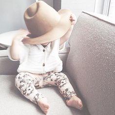 Too cute for words. #ptbaby #wardrobechange