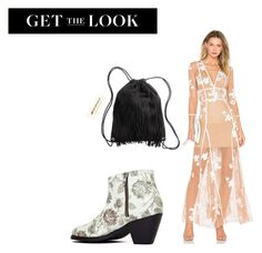 """camila"" by dancelovepassion on Polyvore featuring mode, For Love & Lemons, H&M et Sol Sana"