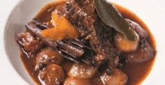 The Hairy Bikers' beef stifado recipe - Food: Veggie tables Chef Recipes, Greek Recipes, Curry Recipes, Cooking Recipes, Lean Recipes, Family Recipes, Italian Recipes, Recipies, Slow Cooker Beef
