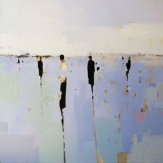 """Geoffrey Johnson is a contemporary impressionist painter who draws much of his inspiration from his travels and first-hand observations. Using a monochromatic palette of sepia hues, the artist says he always strives to reproduce the places that inspire him while allowing his paintings to """"almost dance on the water of abstraction or of just being"""". In the past, he has often painted New York City, which continues to provide new ideas and inspiration for him."""