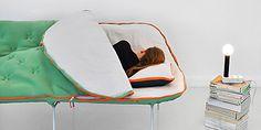 Camp Daybed: Sofa und Schlafsack in einem