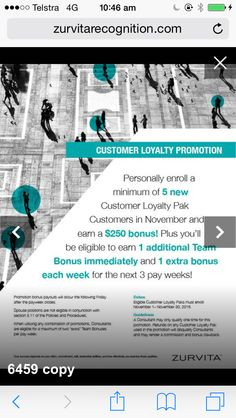 Customer Loyalty Programme special