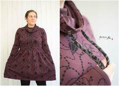 Ich habe da mal ein Experimente gestartet. Also ich wollte gerne zu Weihnachten eine Art Hoodiekleid. So die Idee. Mein Kleid war...
