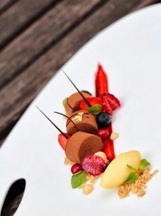 Plated dessert by Vikas Bagul