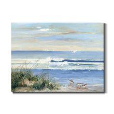Abstract Canvas, Canvas Artwork, Canvas Art Prints, Painting Prints, Canvas Wall Art, Beach Artwork, Beach Scene Painting, Seascape Paintings, Fine Art