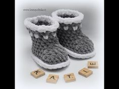 Capáčky Dolphin Crochet baby shoes Dolphin - YouTube