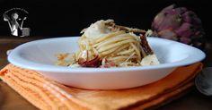 Spaghetti+al+baccalà+croccante