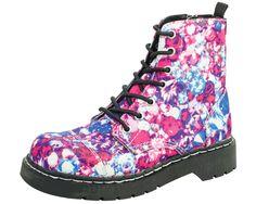 Jewel Print Boots