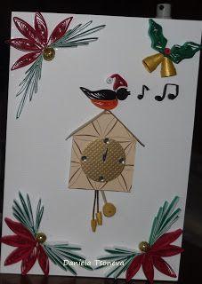 Handycards - by: Daniela Tsoneve - quilling
