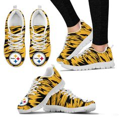 65aa13dbd3 Brush Strong Cracking Comfortable Pittsburgh Steelers Sneakers