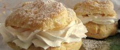 Recept Karamelové větrníky - FOTOPOSTUP Hamburger, Bread, Food, Brot, Essen, Baking, Burgers, Meals, Breads