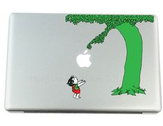 GlVING Tree Mac Decals Apple MacBook Decal Stickers $9.95  If I had a Mac, I would totally get this.