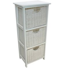 Store your shoes, toys, or magazines in the baskets and use the bench as extra seating. Available in grey, white or brown. Wood Storage, Storage Drawers, Storage Unit With Baskets, Basket Drawers, Magazine Storage, Trunks And Chests, Open Frame, Rattan Basket, Extra Storage