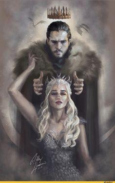 Game of Thrones fan art, Daenerys Targaryen, Jon Snow, Jonerys Dessin Game Of Thrones, Game Of Thrones Drawings, Arte Game Of Thrones, Game Of Thrones Artwork, Game Of Thrones Funny, Jon Snow And Daenerys, Game Of Throne Daenerys, John Snow, Game Of Trones