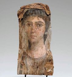 whitehotel: Unknown Egyptian artist, Mummy portrait of a woman (50-70 AD)