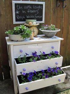 used drawers planting 14