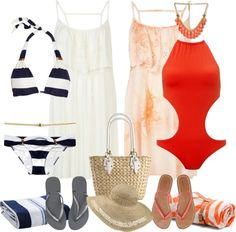 """Swim Wear for Bora Bora"" by justjules2332 ❤ liked on Polyvore"