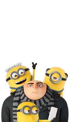 minions-and-gru wallpaper by ThiagoJappz - 48 - Free on ZEDGE™ Gru And Minions, Minion Art, Despicable Minions, Minion Wallpaper Iphone, Disney Wallpaper, Cute Cartoon Pictures, Disney Pictures, Funny Minion Videos, Minion Coloring Pages