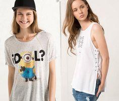 bershka camisetas 2015