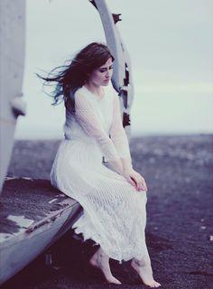 fairy tale photo shoot Iceland, Iceland, bridal photos Iceland, elves inspired pictures, Like A Riot, bridal photos, lace dress, boho, boho style, Chicwish, abandoned plane