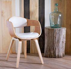 Home Collection Silla Coventry Blanca. #Sillas.