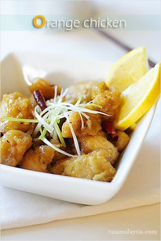 Orange chicken and many more oriental recipes