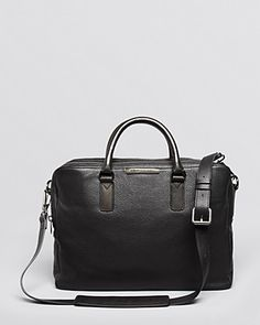 MARC BY MARC JACOBS Leather Briefcase   Bloomingdale's