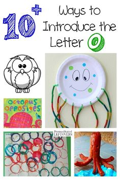 There are so many fun ways to teach the alphabet! Here are some printables, crafts, recipes and more ways to introduce the letter O to your child. Letter O Activities, Preschool Letters, Preschool Activities, Letter O Crafts, Crafts For 3 Year Olds, Teaching The Alphabet, Preschool Learning, Kindergarten Classroom, Educational Crafts