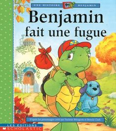 Franklin Runs Away, adapted by Sharon Jennings, Mark Koren, Sean Jeffrey, Jelena Sisic & Joanne Rice Used Books, My Books, Franklin The Turtle, Turtle Book, Franklin Books, Read Aloud Books, Little Library, Running Away, Story Time