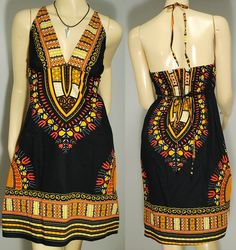 African Style.- achievable with a dashiki fabric of mola