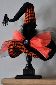 Cute Witch hat for Halloween decorations.
