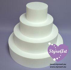 Styropor Torte 4-stöckig Cake Dummy