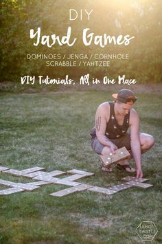 DIY Yard Games- I lo