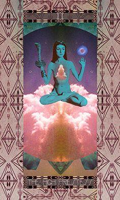 Serpentfire Tarot- High Priestess