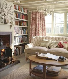 Trendy... Romantic Country Cottage Style Decorating :-D