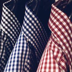 Ponadczasowa kratka Vichy w męskim wydaniu #wolczanka #wólczanka #koszule #shirts #menswear #vichy #autumn #new #collection #colors #gentleman