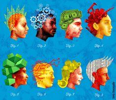 Boris Séméniako - Illustration pour Le Monde - Les voix de l'économie