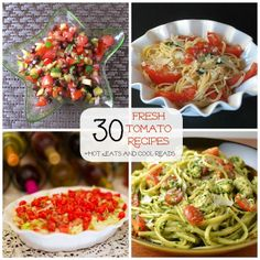 30 Fresh Tomato Recipes from Hot Eats and Cool Reads