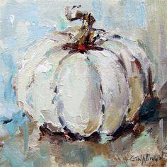 """""""Feels Like Fall"""" original fine art by Gina Brown"""