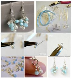 Pandahall.com offers you jewelry  making ideas and easy picture instruction to help you to finish this beaded earring.