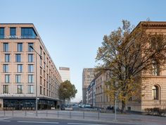 2 and 3 Star Hotels at Hauptbahnhof: Berlin Buildings - design by nps tchoban voss - 2 and 3 Star Hotels at Hauptbahnhof, Berlin–Mitte Buildings, Design, Images, Architect, Architecture