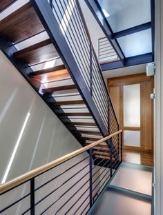 Four-story rowhouse gets modern overhaul in Prospect Heights
